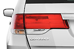Tail light close up detail view of a 2009 Honda Odyssey Touring