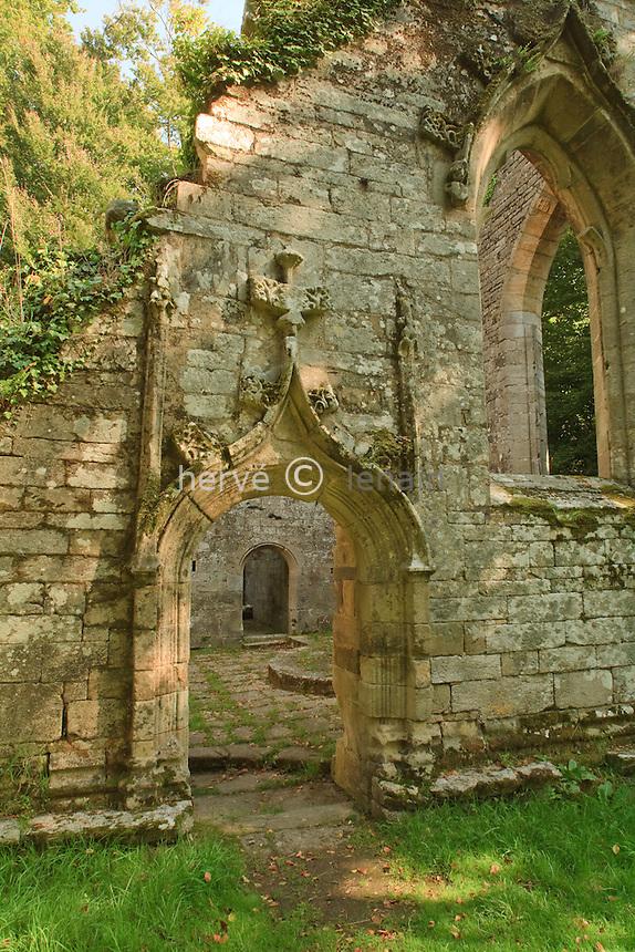 France, Bretagne, Morbihan (56), Grand-Champ, chapelle Notre-Dame du Burgo //  France, Brittany, Morbihan, Grand-Champ, chapel Notre-Dame du Burgo