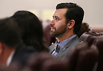 Nevada Assemblyman Stephen Silberkraus, R-Henderson, works in committee at the Legislative Building in Carson City, Nev., on Monday, March 2, 2015. <br /> Photo by Cathleen Allison