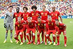 Belgium team group line-up (BEL), JUNE 22, 2014 - Football / Soccer : FIFA World Cup Brazil 2014 Group H match between Belgium 1-0 Russia at the Maracana stadium in Rio de Janeiro, Brazil. (Photo by Maurizio Borsari/AFLO)
