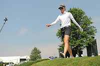 Kris Tamulis (USA) departs the 16th tee during Thursday's first round of the 72nd U.S. Women's Open Championship, at Trump National Golf Club, Bedminster, New Jersey. 7/13/2017.<br /> Picture: Golffile | Ken Murray<br /> <br /> <br /> All photo usage must carry mandatory copyright credit (&copy; Golffile | Ken Murray)