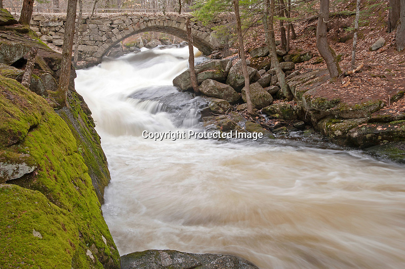 Cascade at Gleason Falls NH