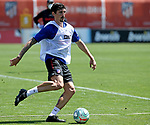 Atletico de Madrid's Stefan Savic during training session. May 21,2020.(ALTERPHOTOS/Atletico de Madrid/Pool)