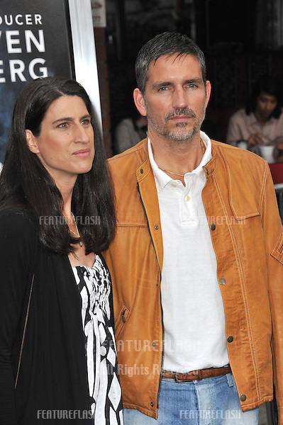 "James Caviezel & wife Kerri Browitt at the Los Angeles premiere of ""Super 8"" at the Regency Village Theatre, Westwood..June 8, 2011  Los Angeles, CA.Picture: Paul Smith / Featureflash"