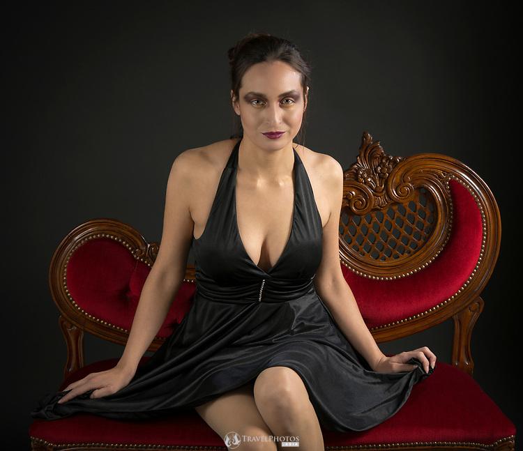 Makeup art project. Photographer: Andrew; Makeup artist: Ksara; model Iselita
