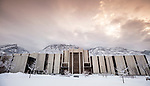 _YU18608<br /> <br /> 1701-01 GCS Snow<br /> <br /> December 9, 2016<br /> <br /> Photography by Nate Edwards/BYU<br /> <br /> © BYU PHOTO 2016<br /> All Rights Reserved<br /> photo@byu.edu  (801)422-7322