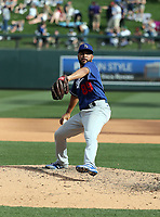 Jordan Sheffield - Los Angeles Dodgers 2020 spring training (Bill Mitchell)