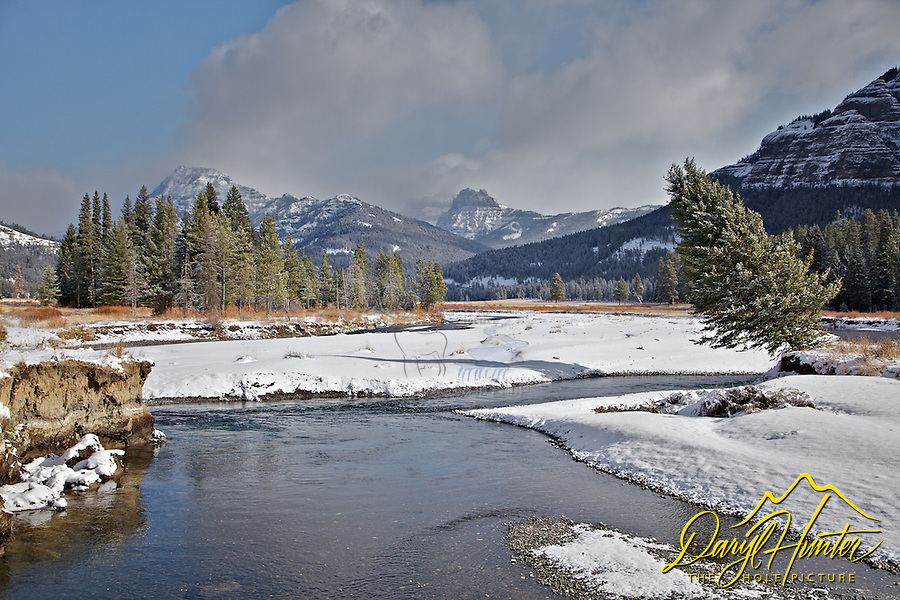 Soda Butte Creek, Absaroka Mountains, Yellowstone National Park