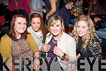 Aisling Weir, Liz Walsh, Megan Weir and Catriona O'Connell in Hennessy on Friday night