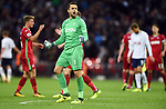 Swansea City goalkeeper Lukasz Fabianski celebrates at the end of the premier league match at the Wembley Stadium, London. Picture date 16th September 2017. Picture credit should read: Robin Parker/Sportimage