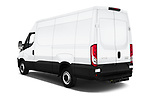 Car pictures of rear three quarter view of 2018 Iveco Daily S 4 Door Cargo Van Angular Rear