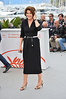 """CANNES, FRANCE. May 21, 2019: Fanny Ardant at the photocall for """"La Belle Epoque"""" at the 72nd Festival de Cannes.<br /> Picture: Paul Smith / Featureflash"""