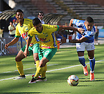 Millonarios venció como visitante 3-0 a Atlético Huila. Fecha 19 Liga Águila.