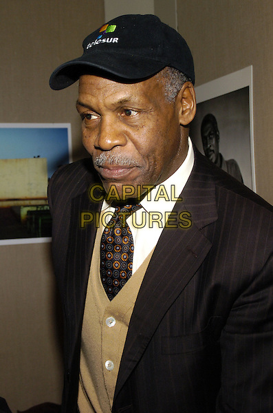 "DANNY GLOVER.Premiere of the feature documentary ""Africa Unite"" at Walter Reade Theatre, Lincoln Center, as part of the New York African Film Festival, New York, New York, USA..April 7th, 2007.headshot portrait baseball cap hat mustache facial hair .CAP/ADM/BL.©Bill Lyons/AdMedia/Capital Pictures *** Local Caption ***"