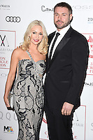 Kristina Rihanoff and Ben Cohen<br /> at the 2017 Critic's Circle Film Awards held at the Mayfair Hotel, London.<br /> <br /> <br /> ©Ash Knotek  D3219  22/01/2017