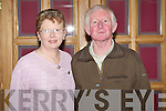 DANCE: Francis and P. J. Higgins enjoying the St Patrick's GAA annual social at the Meadowlands hotel on Saturday.