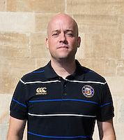 Physiotherapist Cerian Parham poses for a portrait at a Bath Rugby photocall. Bath Rugby Media Day on September 8, 2015 at Farleigh House in Bath, England. Photo by: Rogan Thomson for Onside Images