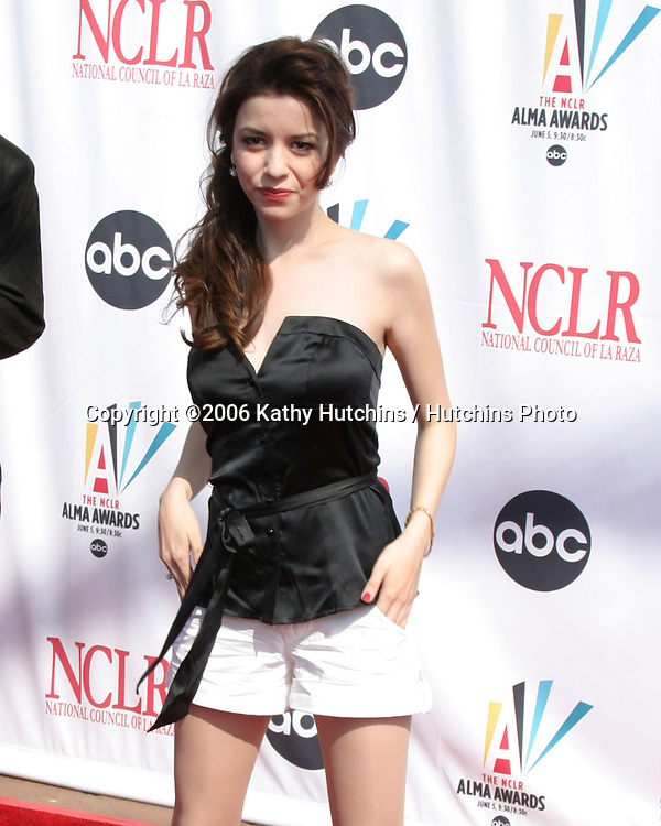 Masiela Lusha.ALMA Awards 2006.Shrine Auditorium.Los Angeles, CA.May 7, 2006.©2006 Kathy Hutchins / Hutchins Photo....
