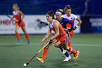 Action during the World Hockey League match between the Netherlands and the USA. North Harbour Hockey Stadium, Auckland, New Zealand. Saturday 18 November 2017. Photo:Simon Watts / www.bwmedia.co.nz