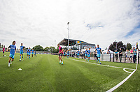 Wycombe Players warm up during the pre season friendly match between Slough Town and Wycombe Wanderers at Arbour Park Stadium, Slough, England on 8 July 2017. Photo by Andy Rowland.