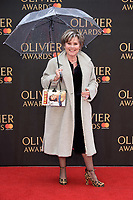 Imelda Staunton arriving for the Olivier Awards 2018 at the Royal Albert Hall, London, UK. <br /> 08 April  2018<br /> Picture: Steve Vas/Featureflash/SilverHub 0208 004 5359 sales@silverhubmedia.com
