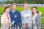 Sinead, Killian Johnson, Kevin McGowan and Kathy O'Connor Kenmare looking for winners the Killarney races on Monday..