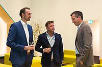Rotterdam, Netherlands, 12 Februari, 2018, Ahoy, Tennis, ABNAMROWTT, Seminar Marc Lammers ABN AMRO Lounge, Richard Krajicek<br /> Photo:tennisimages.com