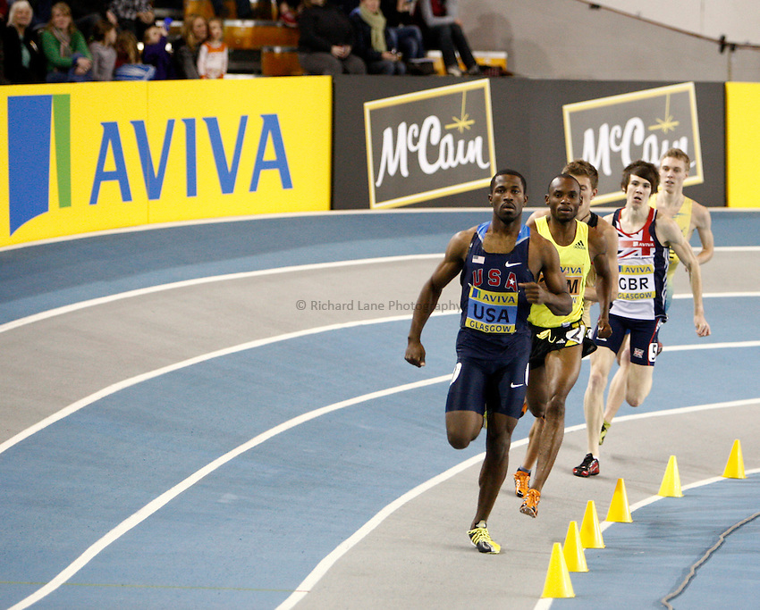 Photo: Richard Lane/Richard Lane Photography. Aviva International Match. 30/01/2010. Men's 800m.