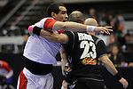 Gharbi vs Roganovic. TUNISIA vs MONTENEGRO: 27-25 - Preliminary Round - Group A