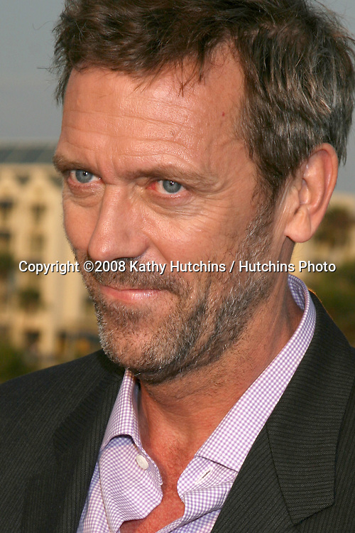 Hugh Laurie   arriving at the Fox TV TCA Summer 08 Party at the Santa Monica Pier in Santa Monica, CA on.July 14, 2008.©2008 Kathy Hutchins / Hutchins Photo .