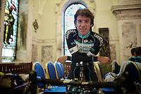 Rigoberto Uran (COL/OPQS) specialized<br /> <br /> Giro d'Italia 2014<br /> Opening Ceremony