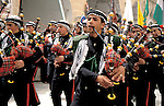 The Judean desert, a Palestinian band at the annual pilgrimage to Nabi Musa&amp;#xA;<br />