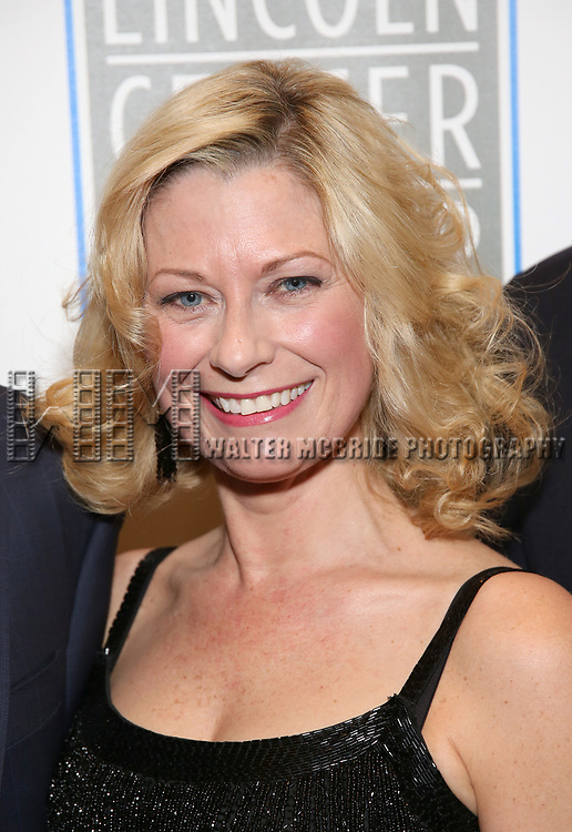 Angela Pierce attends the Opening Night Performance press reception for the Lincoln Center Theater production of 'Oslo' at the Vivian Beaumont Theater on April 13, 2017 in New York City.
