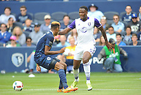 Kansas City, Kansas - May 15, 2016: Sporting Kansas City defeated Orlando City SC 2-1 at Children's Mercy Park.