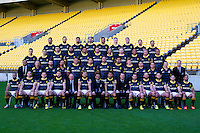 151016 ITM Cup Rugby - Wellington Lions Team Photo