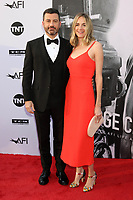 HOLLYWOOD, CA - JUNE 7: Jimmy Kimmel and Molly McNearney at the American Film Institute Lifetime Achievement Award Honoring George Clooney at the Dolby Theater in Hollywood, California on June 7, 2018. <br /> CAP/MPI/DE<br /> &copy;DE//MPI/Capital Pictures