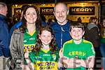 Maria, Saoirse, Brendan and Brendan Jnr Casey killarney at the Kerry team homecoming in Killarney on Monday