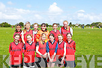 TEAM: The Fossa ladies under 15 soccer team playing in camp for a place in bthe Mosney Community Games on Sunday Front l-r: Katie Talbot, Aine Connelly, Jennifer O'Neill, Jessica Galvin and Olivia O'Donoghue. Back l-r: Abigail Graham,Melissa Buckley, maeve Healy, Katie O'Reilly, Emily Cahill  and Rosha Courtney.......