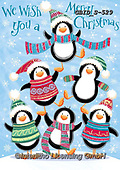 Patrick, CHRISTMAS ANIMALS, WEIHNACHTEN TIERE, NAVIDAD ANIMALES, paintings+++++,GBIDS-529,#xa# ,penguin