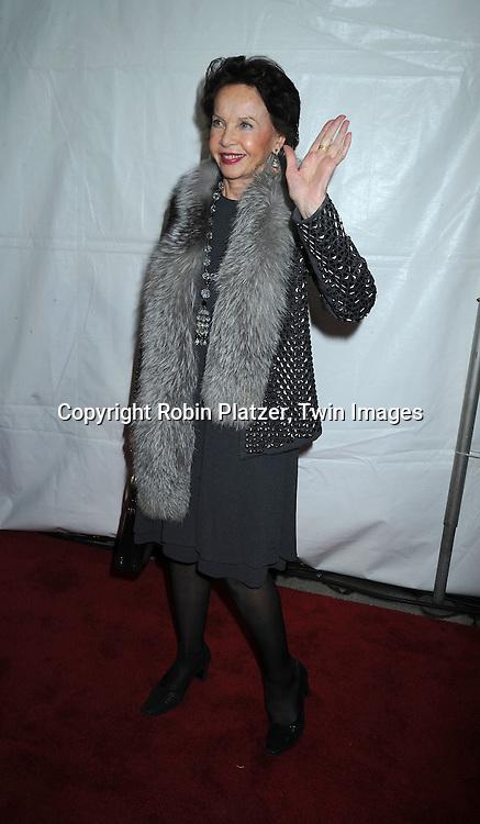 actress Leslie Caron
