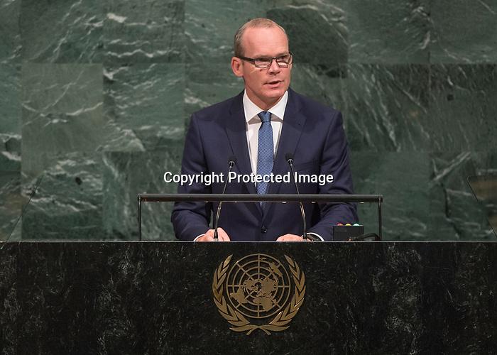 72 General Debate – 23rd of September  2017<br /> <br /> Mr. Denis NAUGHTON<br /> Minister for Environment of<br /> IRELAND