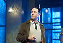 Hangmen by Martin McDonagh, directed by Matthew Dunster. With  Reece Shearsmith as Syd. Opens at The Royal Court Jerwood Theatre Downstairs on 18/9/15. CREDIT Geraint Lewis
