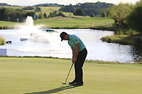 Haydn Porteous (RSA) putts to win on the 18th green during Round 4 of the D+D Real Czech Masters at the Albatross Golf Resort, Prague, Czech Rep. 03/09/2017<br /> Picture: Golffile | Thos Caffrey<br /> <br /> <br /> All photo usage must carry mandatory copyright credit     (&copy; Golffile | Thos Caffrey)