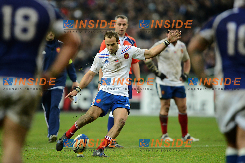 Frederic MICHALAK (fra) .Parigi 24/11/2012 Saint Denis.Rugby Test Match .Francia Vs Samoa.Foto Anthony Bibard / Panoramic / Insidefoto.ITALY ONLY