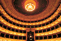 - Parma, the Royal theater<br />