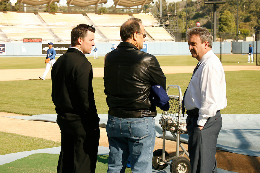 Los Angeles Dodgers Winter Workout Thursday, January 17,2008 at Dodger Stadium in Los Angeles,California.<br /> <br /> &copy; Jon SooHoo/LA Dodgers 2008