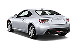 Car pictures of rear three quarter view of a 2015 Subaru BRZ Limited AT 2 Door Coupe Angular Rear