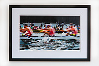Framed & signed print from my 'Blurs' collection. This series was exhibited in the art gallery at the Henley Royal Regatta, 2019.<br />
