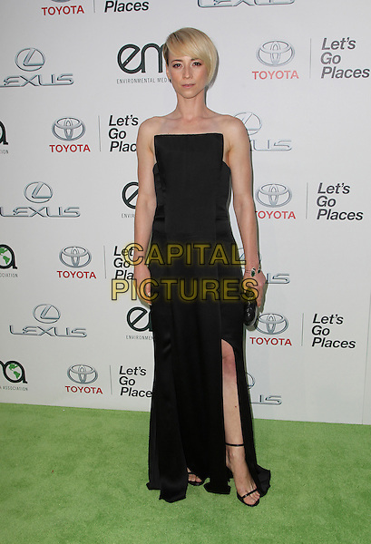 18 October 2014 - Burbank, California - Karine Vanasse. 24th Annual Environmental Media Awards Presented By Toyota And Lexus Held at The Warner Brothers Studios.   <br /> CAP/ADM/FS<br /> &copy;Faye Sadou/AdMedia/Capital Pictures