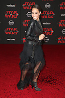 LOS ANGELES, CA - DECEMBER 9: Alex Hudgens, at Premiere Of Disney Pictures And Lucasfilm's 'Star Wars: The Last Jedi' at Shrine Auditorium in Los Angeles, California on December 9, 2017. Credit: Faye Sadou/MediaPunch /NortePhoto.com NORTEPHOTOMEXICO